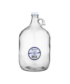 Glass Water Bottle - One Gallon
