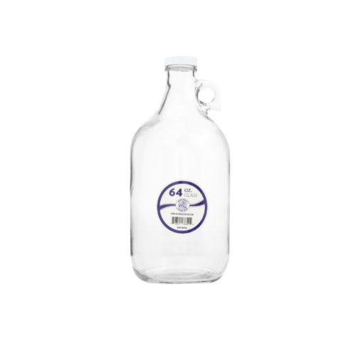 Glass Water Bottle - Half Gallon