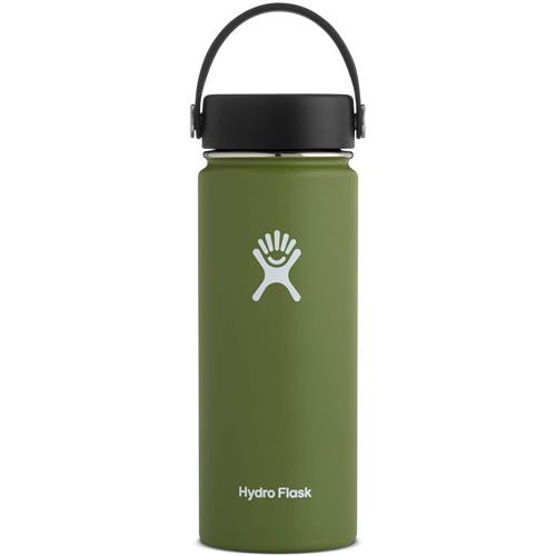 Olive Hydro Flask 18oz