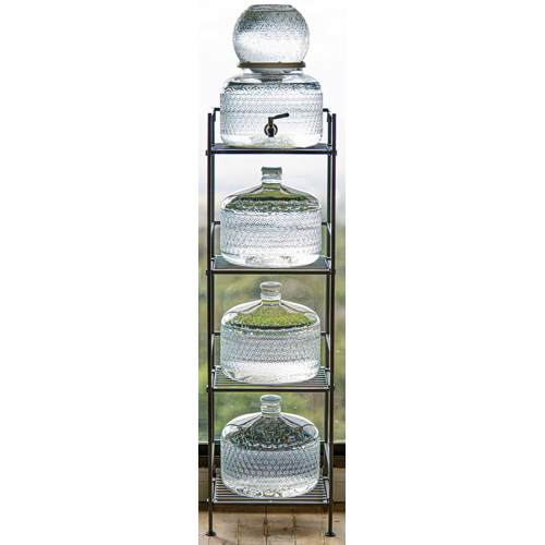 Live Water Metal Stand
