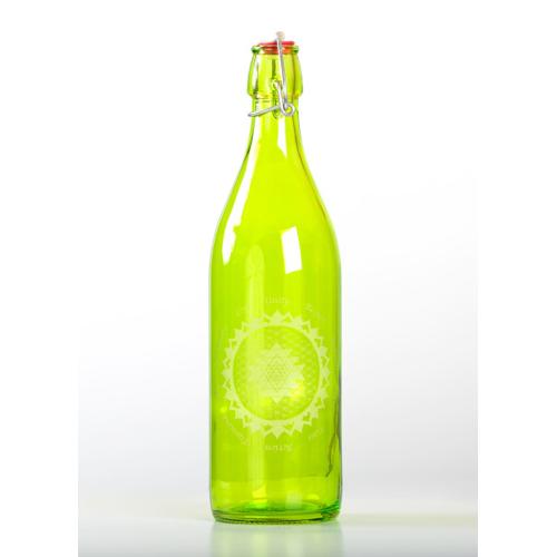 Peridot Elevated Glass Bottle