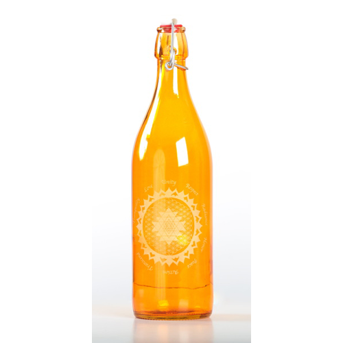 Topaz Elevated Glass Bottle